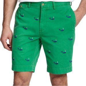 Polo By Ralph Lauren Nautical Preppy Whale Shorts